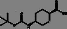 Boc-trans-4-aminocyclohexane carboxylic acid