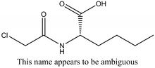 Chloroacetyl-L-norleucine