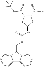 Fmoc-(2S,4R)-4-amino-1-Boc-pyrrolidine-2-carboxylic acid