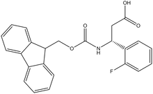 Fmoc-(R)-3-amino-3-(2-fluorophenyl)propionic acid