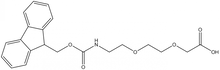 Fmoc-8-amino-3,6-dioxaoctanoic acid