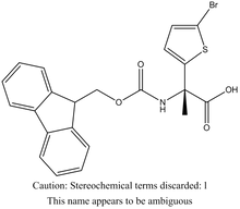 Fmoc-L-a-(5-bromothienyl)alanine
