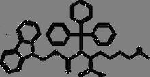Fmoc-Ne-methyltrityl-D-lysine