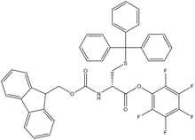 Fmoc-S-trityl-D-cysteine pentafluorophenyl ester