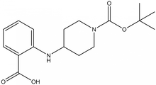 N-(1-Boc-piperidin-4-yl)-2-aminobenzoic acid