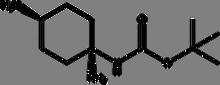 trans-1-Boc-amino-1,4-cyclohexanediamine