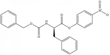 Z-D-phenylalanine 4-nitrophenyl ester