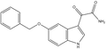 5-Benzyloxyindole-3-glyoxylamide 500 mg