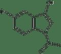 N-Acetyl-5-bromo-3-hydroxyindole 2.5 g