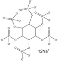 Phytic acid, dodecasodium salt