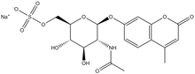 4-Methylumbelliferyl-N-acetyl-beta-D-glucosaminide-6-sulfate, sodium salt 5 g