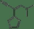 3-(dimethylamino)-2-(3-thienyl)acrylonitrile 500 mg