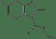 ethyl 2,7-dimethylimidazo[1,2-a]pyridine-3-carboxylate 500 mg