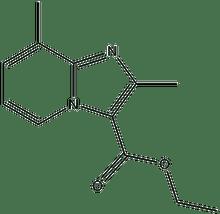 ethyl 2,8-dimethylimidazo[1,2-a]pyridine-3-carboxylate 500 mg