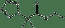ethyl 2-methyl-2-(1H-1,2,4-triazol-1-yl)propanoate 500 mg
