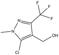 [5-chloro-1-methyl-3-(trifluoromethyl)-1H-pyrazol-4-yl]methanol 500 mg