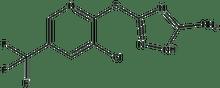 3-{[3-chloro-5-(trifluoromethyl)-2-pyridinyl]sulfanyl}-1H-1,2,4-triazol-5-amine 500 mg