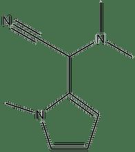 2-(dimethylamino)-2-(1-methyl-1H-pyrrol-2-yl)acetonitrile 500 mg