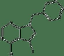 7-Benzyl-4-chloro-5-iodo-7H-pyrrolo[2,3-d]pyrimidine 1g