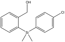 {2-[(4-Chloro-phenyl)-dimethyl-silanyl]-phenyl}-methanol 1g