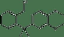 {2-[(3,4-Dimethoxy-phenyl)-dimethyl-silanyl]-phenyl}-methanol 1g