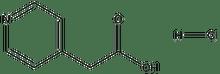 4-Pyridine acetic acid hydrochloride 1g
