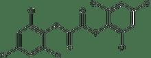 Bis(2,4,6-trichlorophenyl)oxalate 1g
