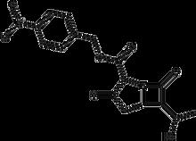 p-Nitrobenzyl 6-(1-hydroxyethyl)-1-azabicyclo[3.2.0]heptane-3,7-dione-2-carboxylate 100mg