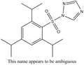 TPST, 2,4,6-Triisopropylbenzenesulfonyl-1H-1,2,4-triazole 1g