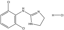 Clonidine hydrochloride 1g