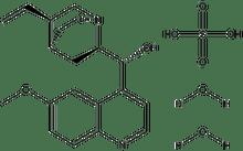 Quinine sulfate dihydrate 10g