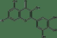 3,5,7-Trihydroxy-2-(3,4,5-trihydroxyphenyl)-chromen-4-one 1g