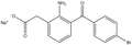Bromfenac monosodium salt sesquihydrate 25mg