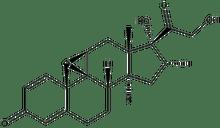 9,11b-Epoxy-17,21-dihydroxy-16a-methyl-9b-pregna-1,4-diene-3,20-dione 100mg