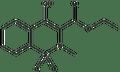 2-Methyl-4-hydroxy-2H-1,2-benzothiazine-3-carboxylic acid ethyl ester-1,1-dioxide 5g