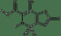 6-Chloro-4-hydroxy-2-methyl-3-methoxycarbonyl-2H-thieno[2,3-e]-1,2-thiazine-1,1-dioxide 1g