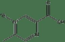 Acipimox (5-Methylpyrazinecarboxylic acid 4-oxide) 1g