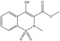 Methyl 4-hydroxy-2-methyl-2H-1,2-benzothiazine-3-carboxylate-1,1-dioxide 1g