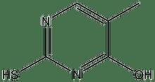4-Hydroxy-2-mercapto-5-methylpyrimidine 5g