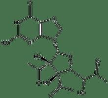 2',3',5'-Triacetylguanosine 1g