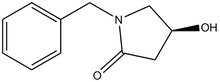 1-Benzyl-4(S)-hydroxy-pyrrolidin-2-one 1g