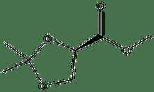 (R)-(+)-2,2-Dimethyl-1,3-dioxolane-4-carboxylic acid methyl ester 1g