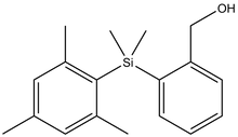 {2-[Dimethyl-(2,4,6-trimethyl-phenyl)-silanyl]-phenyl}-methanol 1g