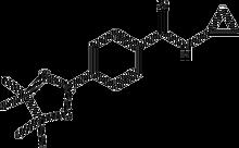 N-cyclopropyl-4-(4,4,5,5-tetramethyl-1,3,2-dioxaborolan-2-yl)benzamide 1g
