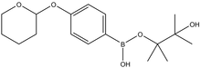 4-(Tetrahydro-2H-pyran-2-yloxy)phenylboronic acid pinacol ester 1g