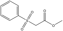 Methyl -(phenylsulfonyl)acetate 5g