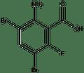 2-Amino-3,5-dibromo-6-fluorobenzoic acid 5g