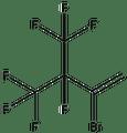 2-Bromo-3,4,4,4-tetrafluoro-3-trifluoromethyl-1-butene 1g