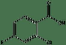 2-Chloro-4-fluorobenzoic acid 25g