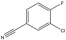 3-Chloro-4-fluorobenzonitrile 25g